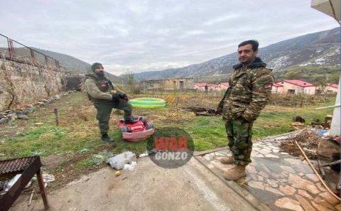 """Suriyalı Andranik  Zabux dərəsindən çıxmaq istəmir- """" Qulağı gicişir...""""-FOTO+VİDEO"""