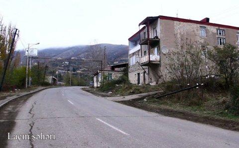 Laçın şəhərinin görüntüləri - VİDEO