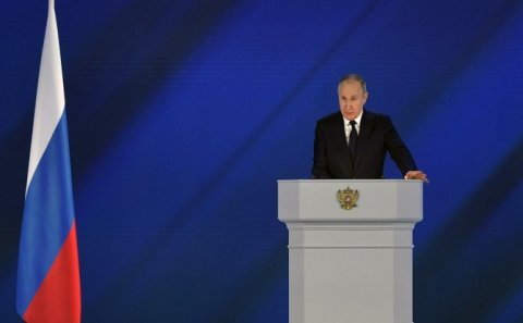 Putin Azərbaycan xalqını TƏBRİK ETDİ