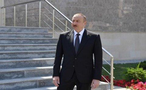 İlham Əliyev Sumqayıtda açılışlar etdi