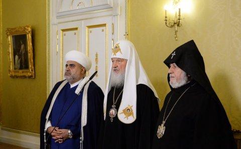 Moskvada Azərbaycan, Rusiya və Ermənistan dini liderlərinin üçtərəfli görüşü keçirilir